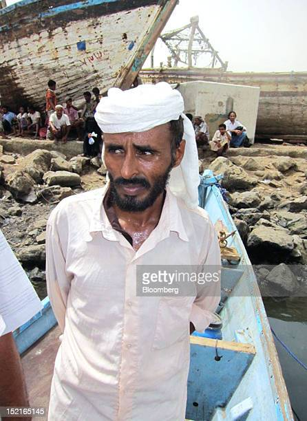 Ali Abdul Esmail Badi a Yemeni fisherman who witnessed the shooting of fellow fisherman Mohammed Ali Quanas from a security guard aboard the Nordic...