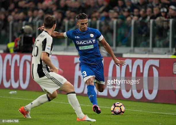 Ali Adnan during Serie A match between Juventus v Udinese in Turin on October 15 2016