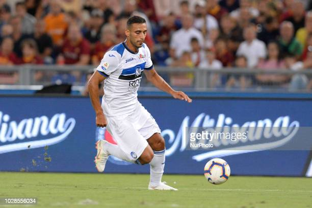 Ali Adnan during the Italian Serie A football match between AS Roma and Atalanta at the Olympic Stadium in Rome on august 27 2018