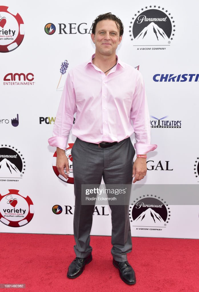 Ali Agirnas attends the 8th Annual Variety Children's Charity of SoCal Texas Hold 'Em Poker Tournament at Paramount Studios on July 18, 2018 in Los Angeles, California.