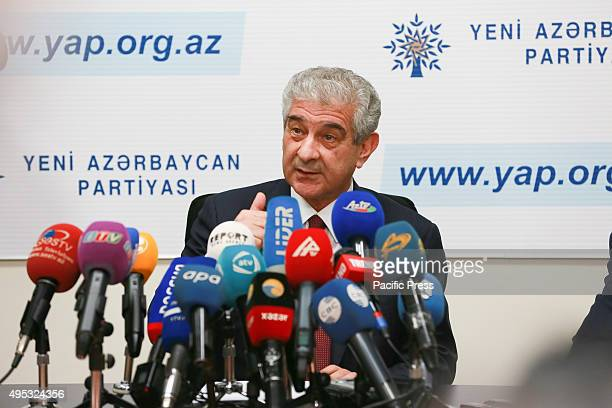Ali Ahmadov Deputy ChairmanExecutive Secretary of the New Azerbaijan Party announced the ruling party have already announced their victory in the...
