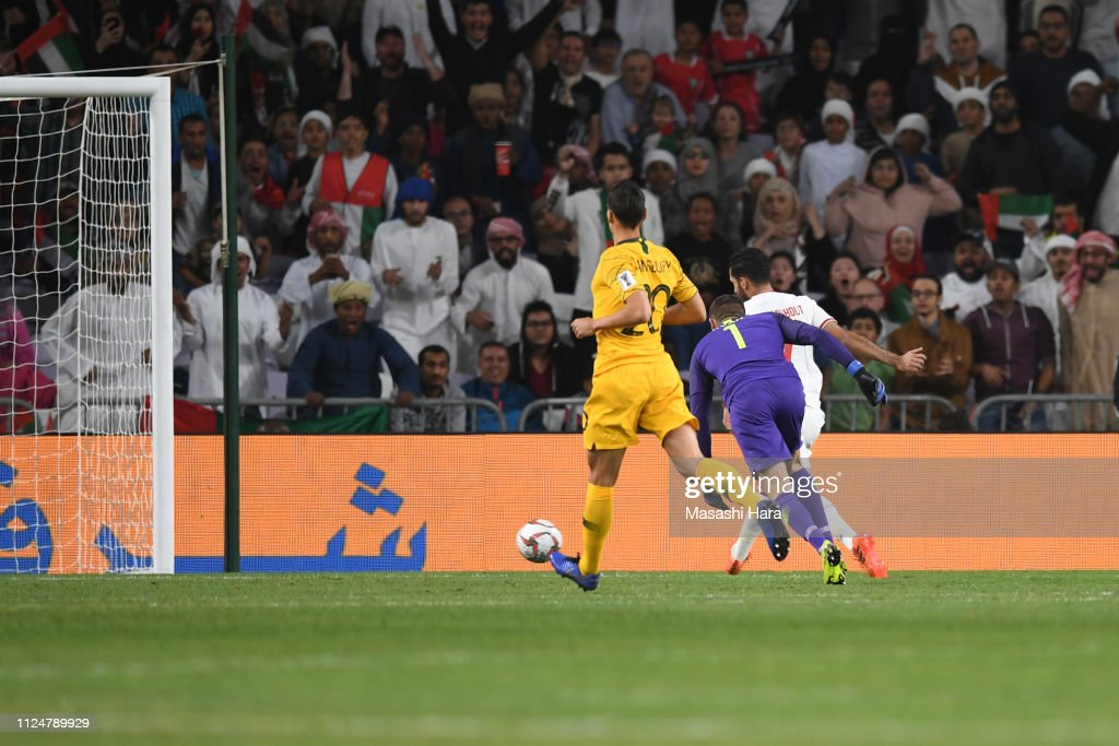 UAE v Australia - AFC Asian Cup Quarter Final : News Photo