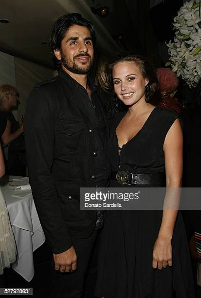 Ali Alborzi and Josie Maran during Fred Segal Beauty Founders Michael A Baruch and Paul DeArmas and Smashbox Cosmetics Founders Dean and Davis Factor...