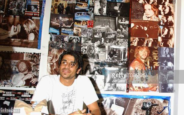 Ali Alborzi during Val Kilmer 'Wonderland' Exhibit in Tokyo at Gallery 360 Degrees in Tokyo Japan
