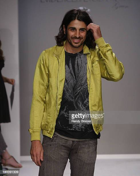 Ali Alborzi walks the runway at the Evidence of Evolution Spring 2008 fashion show during Mercedes Benz Fashion Week held at Smashbox Studios on...