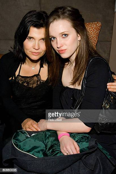 Ali and Jordan Hewson attend the after party for Bystander Films' The 27 Club at Hotel Gansevoort on April 26 2008 in New York City