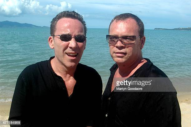 Ali and Robin Campbell of UB40 at Koh Samui Festival Thailand September 2005