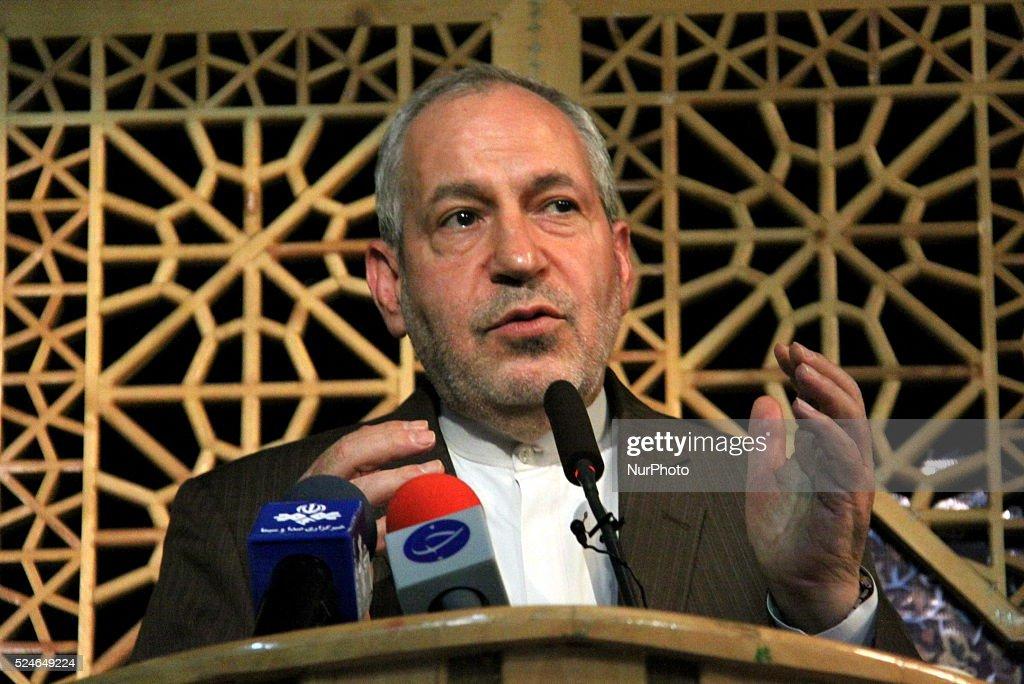 "Joint Conference of ""Rahiyanenoor"" headquarters, Iran-Tehran : News Photo"