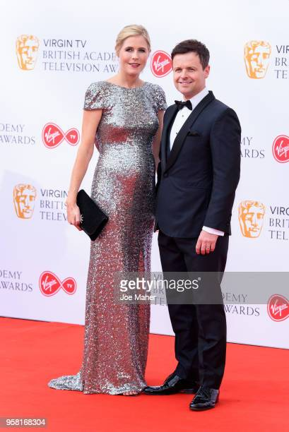 Ali Astall and Declan Donnelly attend the Virgin TV British Academy Television Awards at The Royal Festival Hall on May 13 2018 in London England