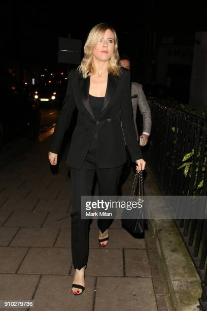 Ali Astall at 34 restaurant for Richard Holloways leaving party on January 25 2018 in London England