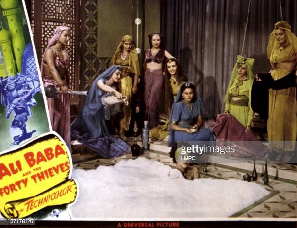 Ali Baba And The Forty Thieves lobbycard Maria Montez 1944
