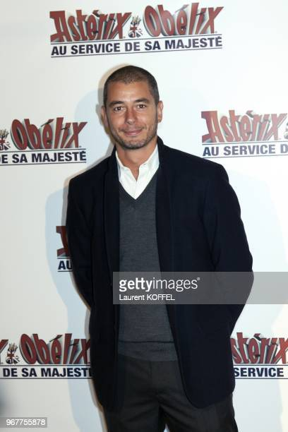 Ali Baddou attends at 'Asterix et Obelix au service de sa majeste' film premiere at 'Le Grand Rex' on September 30 2012 in Paris France