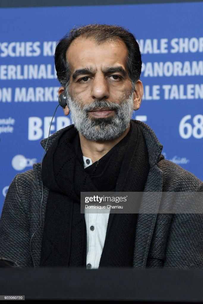 Ali Bagheri attends the 'Pig' (Khook) press conference during the 68th Berlinale International Film Festival Berlin at Grand Hyatt Hotel on February 21, 2018 in Berlin, Germany.