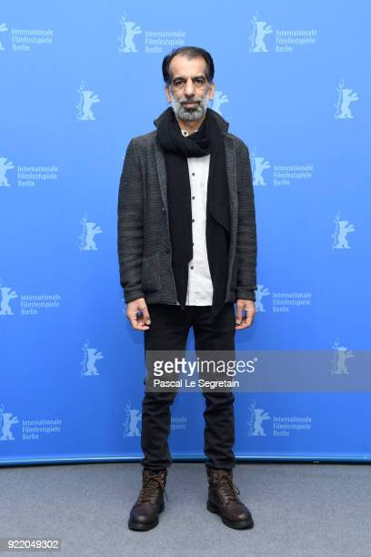 Ali Bagheri poses at the 'Pig' photo call during the 68th Berlinale International Film Festival Berlin at Grand Hyatt Hotel on February 21 2018 in...