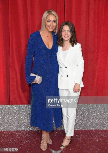 Ali Bastian and Bethan Moore attend the British Soap Awards at The Lowry Theatre on June 01 2019 in Manchester England