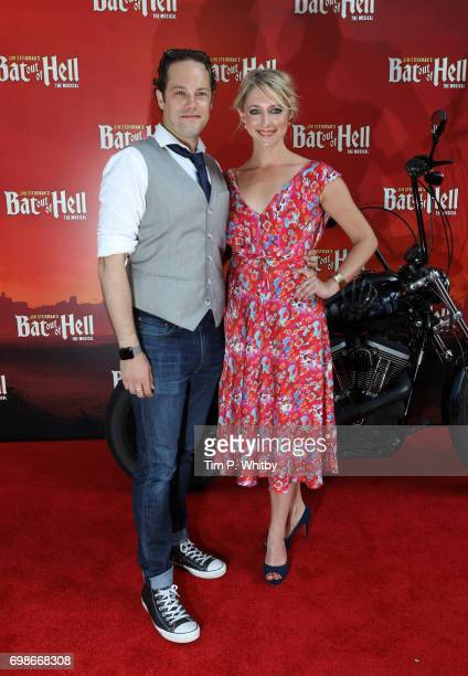 Ali Bastian and guest attend the press night of 'Bat Our Of Hell The Musical' at The London Coliseum on June 20 2017 in London England