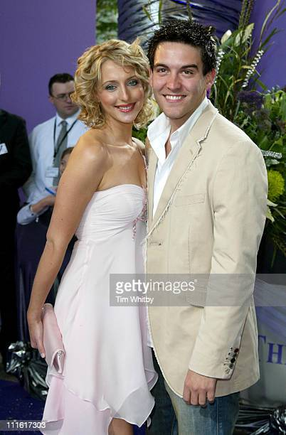 Ali Bastian and Kevin Sacre during The 2005 British Soap Awards Arrivals at BBC Tv Studios in London Great Britain