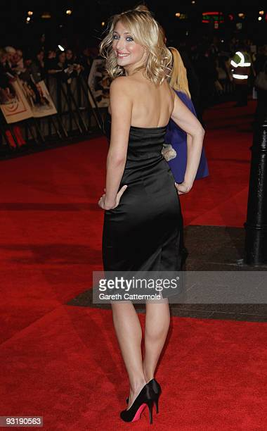 Ali Bastian arrives at the UK film premiere of 'Me Orson Welles' at the Vue West End on November 18 2009 in London England