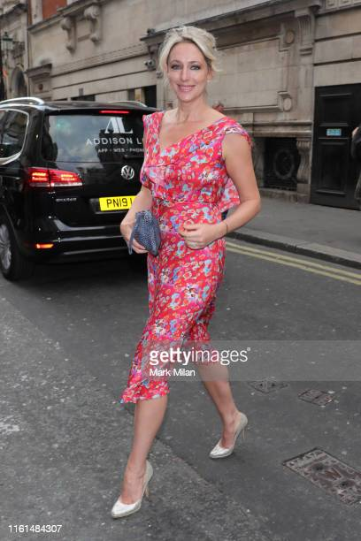 Ali Bastian attending The Paul Strank Charity Summer Party on July 11 2019 in London England