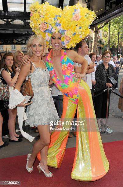 Ali Bastian attends a special performance of Pricilla Queen Of The Desert The Musical on Ben Richards opening night on June 22 2010 in London England