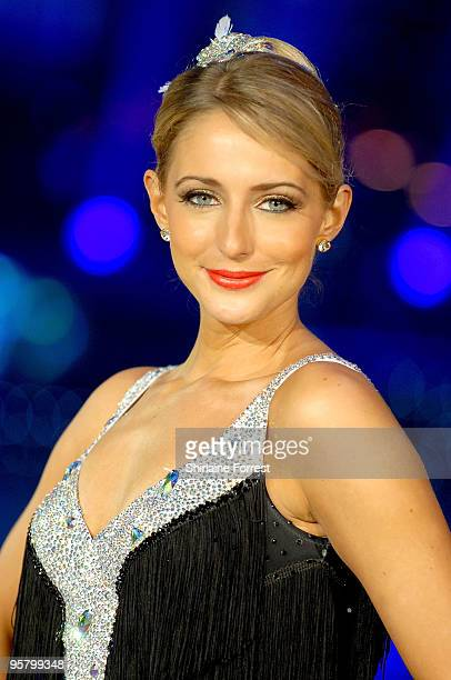 Ali Bastian attends photocall to launch the Strictly Come Dancing Live Tour at MEN Arena on January 15 2010 in Manchester England