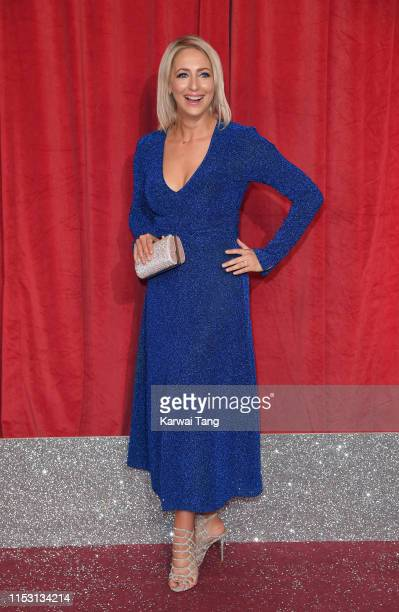 Ali Bastian attends the British Soap Awards at The Lowry Theatre on June 01 2019 in Manchester England