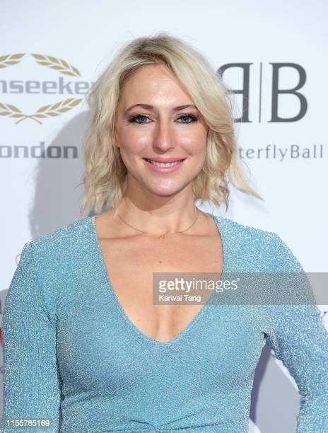 Ali Bastian attends the Butterfly Ball 2019 at The Grosvenor House Hotel on June 13 2019 in London England