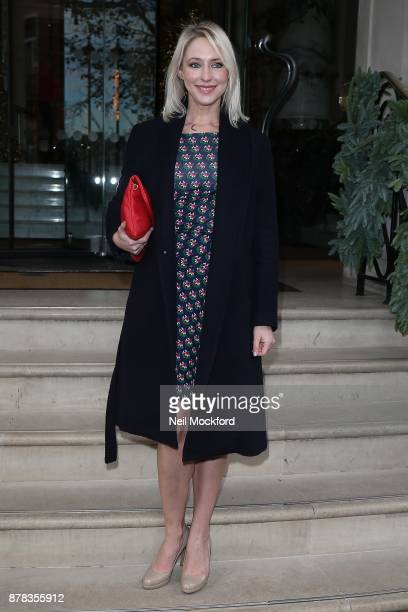 Ali Bastian attends the Caudwell Children Ladies Lunch at The Langham Hotel on November 24 2017 in London England