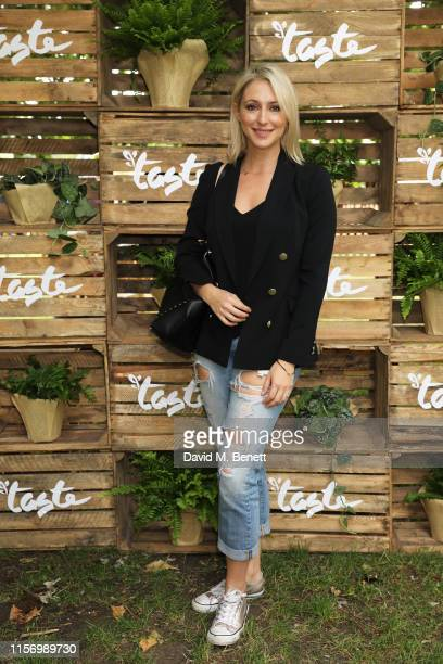 Ali Bastian attends the launch of Taste of London festival 2019 in Regent's Park the ultimate celebration of London's worldrenowned culinary scene on...