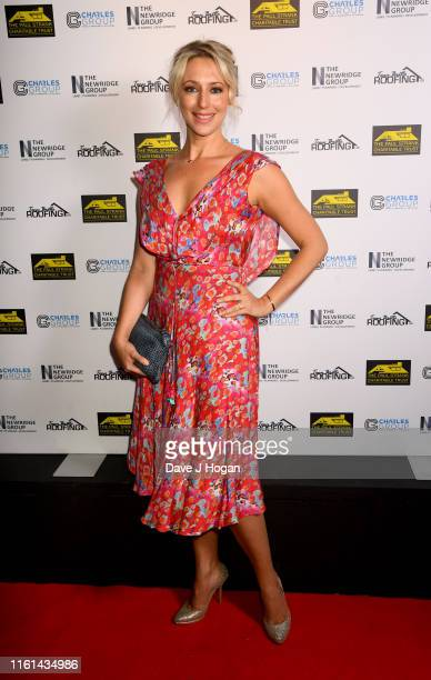 Ali Bastian attends The Paul Strank Charity Summer Party at Opium on July 11 2019 in London England