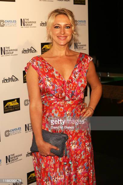 Ali Bastian attends The Paul Strank Charity Summer Party raising funds for Shooting Stars Children's Hospices at Opium on July 11 2019 in London...
