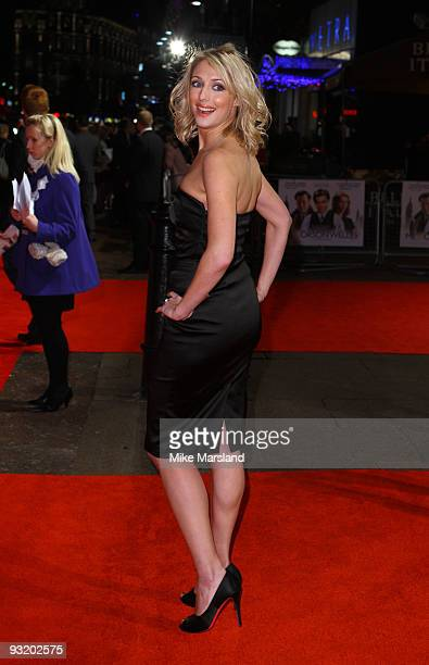 Ali Bastian attends the UK Film Premiere of 'Me Orson Welles' at Vue West End on November 18 2009 in London England