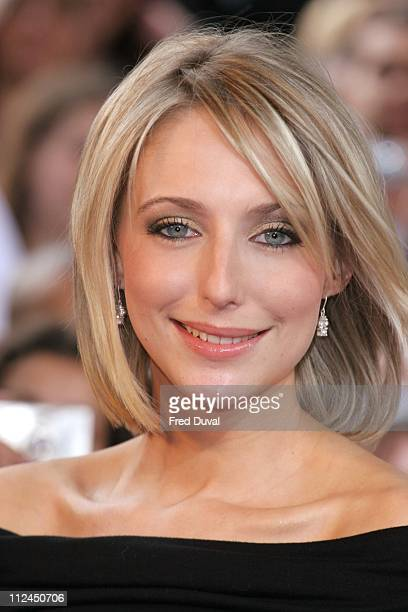 Ali Bastian during British Soap Awards 2006 Arrivals at BBC Television Centre in London Great Britain
