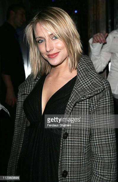 Ali Bastian during 'Gene Simmons Family Jewels' Party Outside Arrivals at Kabaret Prophecy in London United Kingdom