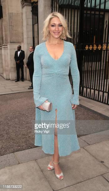 Ali Bastian seen attending Caudwell Children Butterfly Ball at Grosvenor House on June 13 2019 in London England