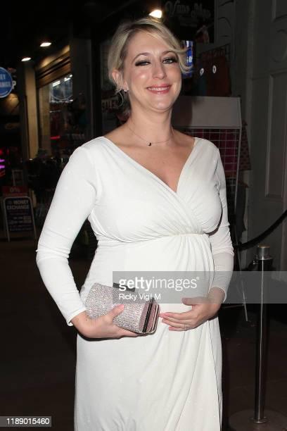 Ali Bastian seen attending Style for Stroke Foundation The Fall Ball at Café de Paris on November 20 2019 in London England