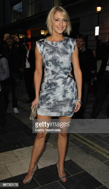 Ali Bastien attends the launch party of 'The Pixie Collection' for Lipsy at Movida on April 28 2010 in London England