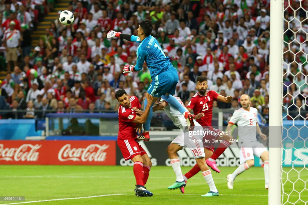 Iran v Spain: Group B - 2018 FIFA World Cup Russia : News Photo