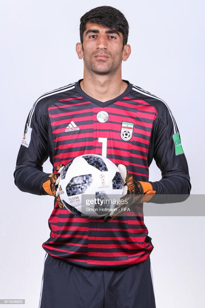 Iran Portraits - 2018 FIFA World Cup Russia : Photo d'actualité