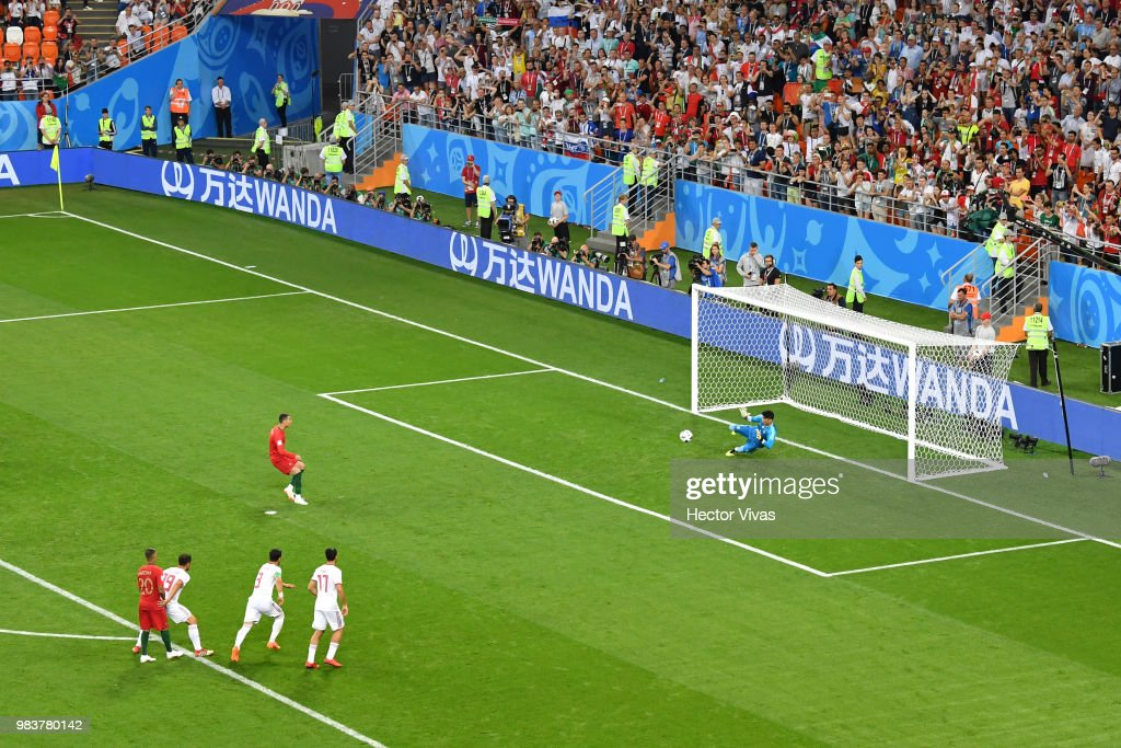 Iran v Portugal: Group B - 2018 FIFA World Cup Russia : News Photo