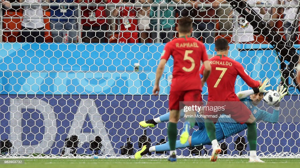Iran v Portugal: Group B - 2018 FIFA World Cup Russia : Nyhetsfoto
