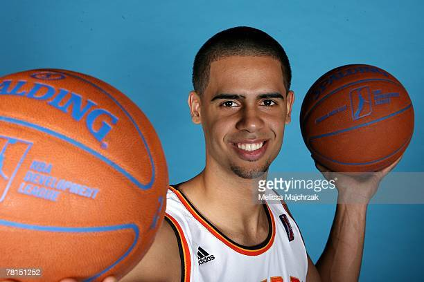 Ali Berdiel of the Albuquerque Thunderbirds poses for a portrait during DLeague media day on November 13 2007 at the Open Court in Lehi Utah NOTE TO...