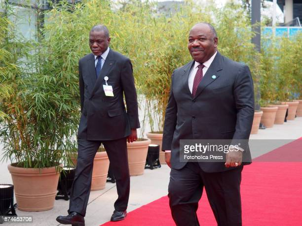 Ali Bongo President of Gabon arriving to the United Nations Framework Convention on Climate Change UNFCCC COP23