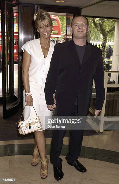 Ali Campbell and wife attend The 2003 Ivor Novello Awards at The Grovesnor House Hotel on May 23 2003 in London