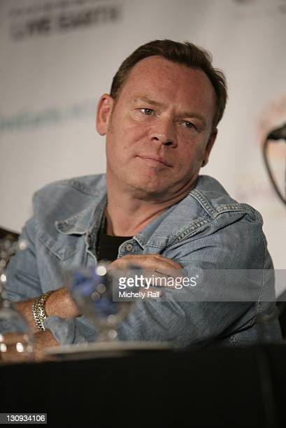 Ali Campbell attends the Press Conference at the Live Earth Concert on July 7 2007 in Johannesburg Soth Africa