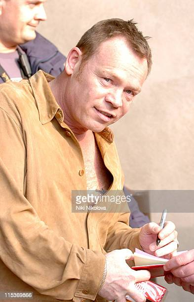 Ali Campbell from UB40 during Celebrity Sightings at London's Metropolitan Hotel April 8 2005 at Metropolitan Hotel in London Great Britain
