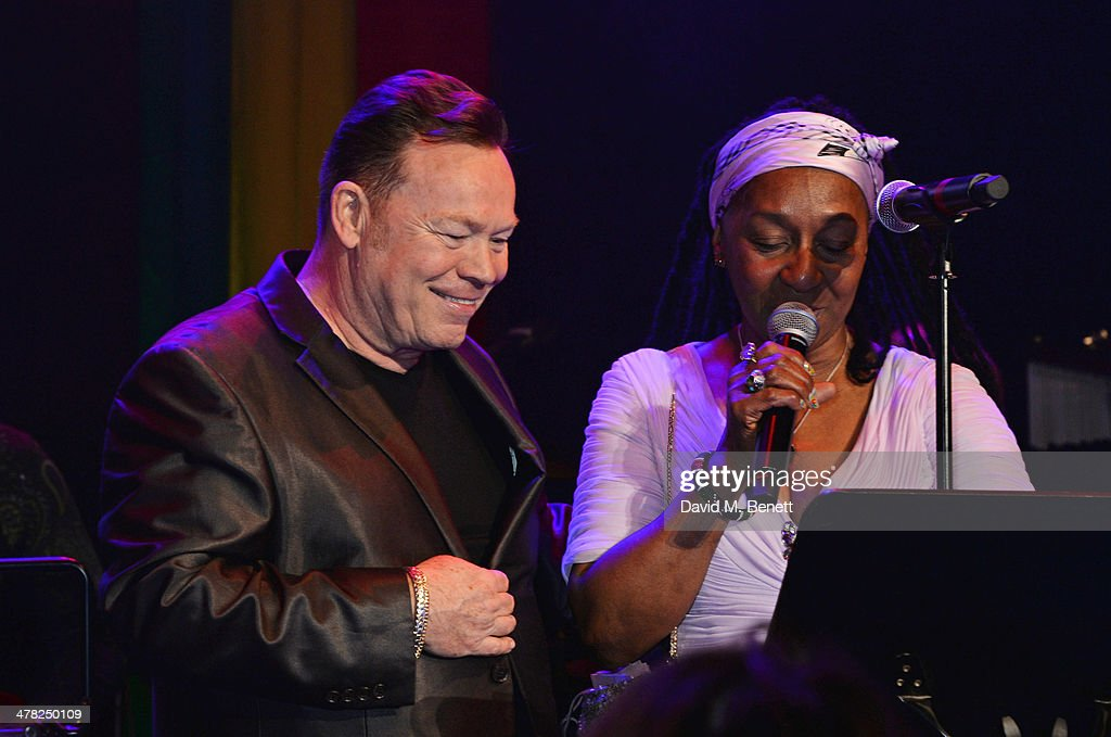 "Ali Campbell of UB40 and Dawn Penn perform at ""A Night of Reggae ..."