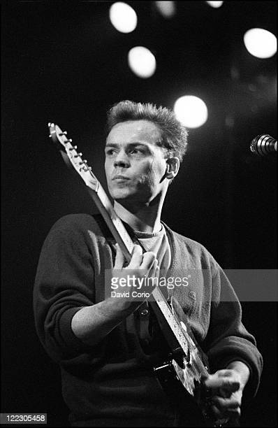 Ali Campbell of UB40 performing at Hammersmith Odeon London 25th October 1983