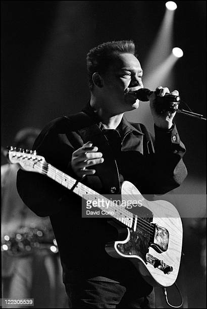 Ali Campbell of UB40 performing at Paramount Theater New York 22nd January 1994
