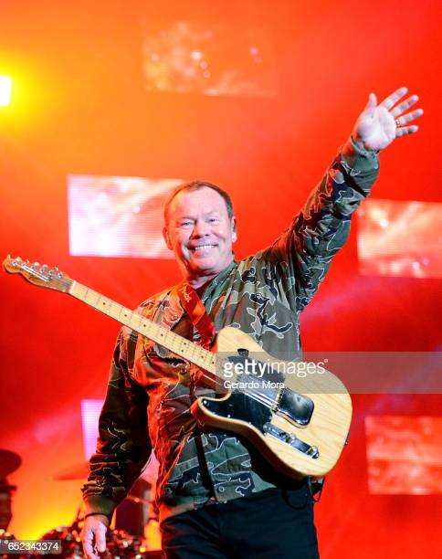 Ali Campbell of UB40 performs during Mardi Gras celebration at Universal Orlando on March 11 2017 in Orlando Florida